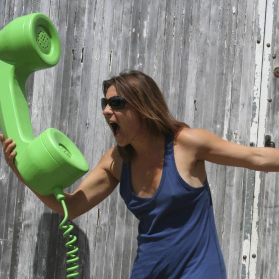 Objet 3D- Telephone-vert