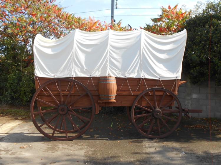 Chariot Westerne Géant